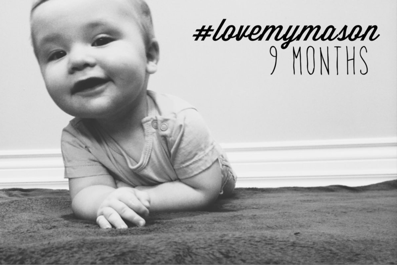 Letter to Mason, 9 months // Wide Eyed with Wonder