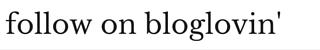 Follow Wide Eyed with Wonder on Bloglovin